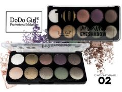 Тени DO DO GIRL Diamond 10 Color, 10 цветов, ТОН 2