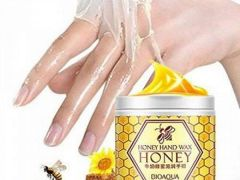 Маска для рук парафиновая bioaqua honey hand wax с экстрактом мёда 170g